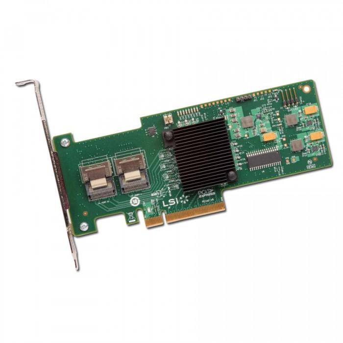 RAID Controller INTEL Internal RS2WC080 up to 8 devices (PCI Express 2.0 x8, SAS/SATA II, RAID levels: JBOD, 0, 1, 10, 5, 50) [1]