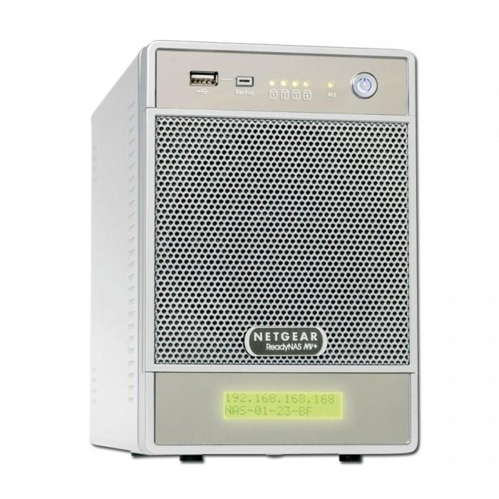 NAS NETGEAR RND4000-100EUS (supported 4 HDD, GLAN, Power Adapter, Desktop, Serial ATA II-300, Level 0, 1, 5) [1]