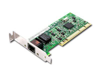 INTEL Network Card PRO/1000 GT (10/100/1000Base-T, 1000Mbps, Bulk, Gigabit Ethernet, lowprofile PCI) [0]