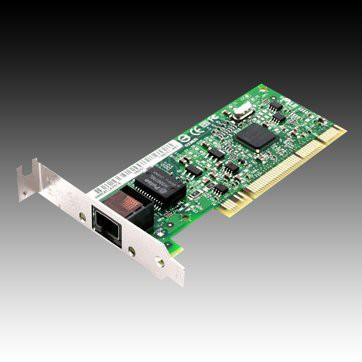 INTEL Network Card PRO/1000 GT (10/100/1000Base-T, 1000Mbps, Bulk, Gigabit Ethernet, lowprofile PCI) [1]
