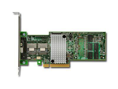Intel RAID Controller RS25DB080 (8ch Internal LSI SAS2208 ROC, 6Gb/s up to 128 SAS/SATA/SSD, PCI-E 2.0 X8, 1GB DDR3, optional AXXRSBBU9, RAID 0,1,5,6,10,50,60, 2 ports 1xMini-SAS SFF-8087, LP bracket  [2]