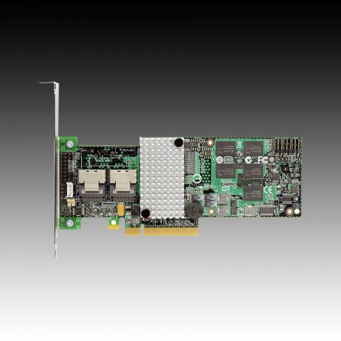 Intel RAID Controller RT3WB080 (8ch Internal LSI SAS2108 ROC, 6Gb/s up to 32 SATA, PCI-E 2.0 X8, 256MB DDR2, optional AXXRSBBU7 or AXXRSBBU8, RAID 0,1,5,6,10,50,60, 2 cables 1xMini-SAS SFF-8087 to 4x  [0]