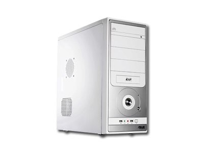 Chassis ASUS TA-882 Middle Tower,  ATX, 7 slots, USB2.0, Audio Line-In, Audio Line-Out, Steel, PSU optional, Air-Duct, Silver/Gray [2]