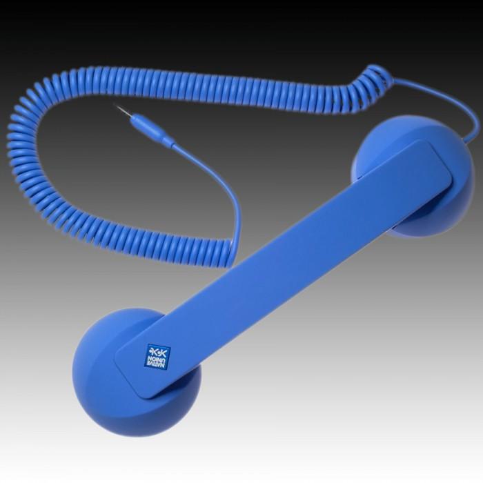 NATIVE UNION  {English}RETRO HANDSET - POP PHONE{English}{Russian}RETRO гарнитура - POP PHONE{Russian} , Blue, Retail () [2]