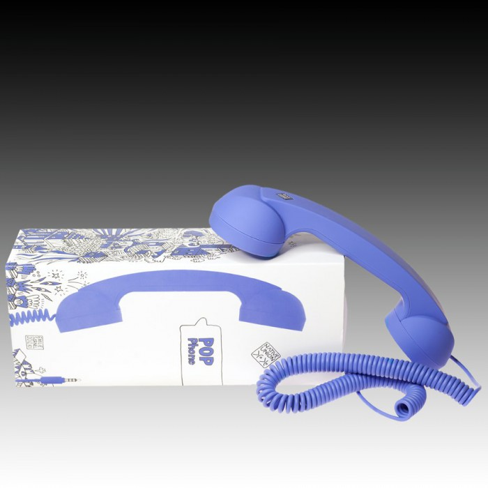 NATIVE UNION  {English}RETRO HANDSET - POP PHONE{English}{Russian}RETRO гарнитура - POP PHONE{Russian} , Blue, Retail () [1]