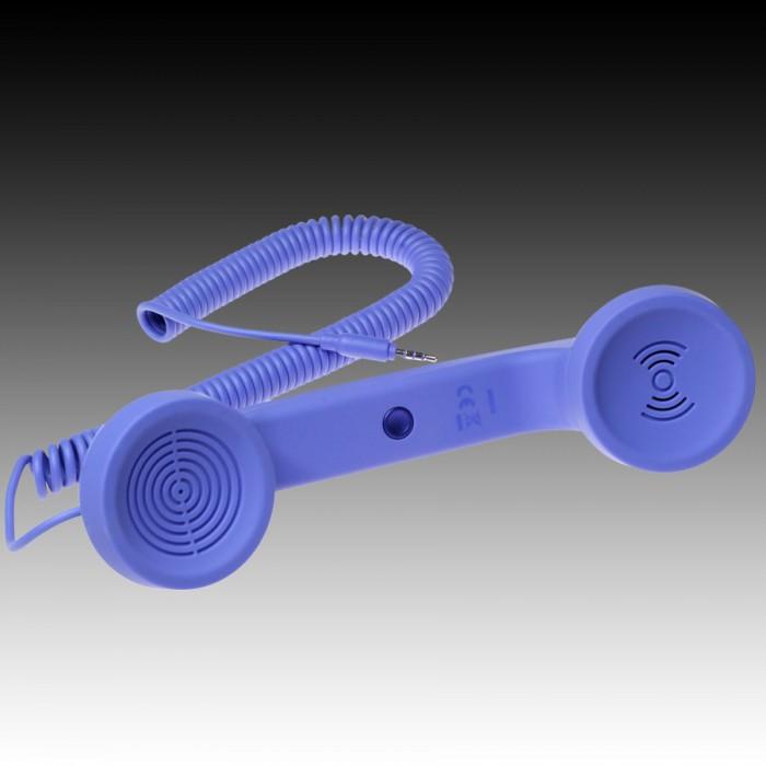 NATIVE UNION  {English}RETRO HANDSET - POP PHONE{English}{Russian}RETRO гарнитура - POP PHONE{Russian} , Blue, Retail () [0]