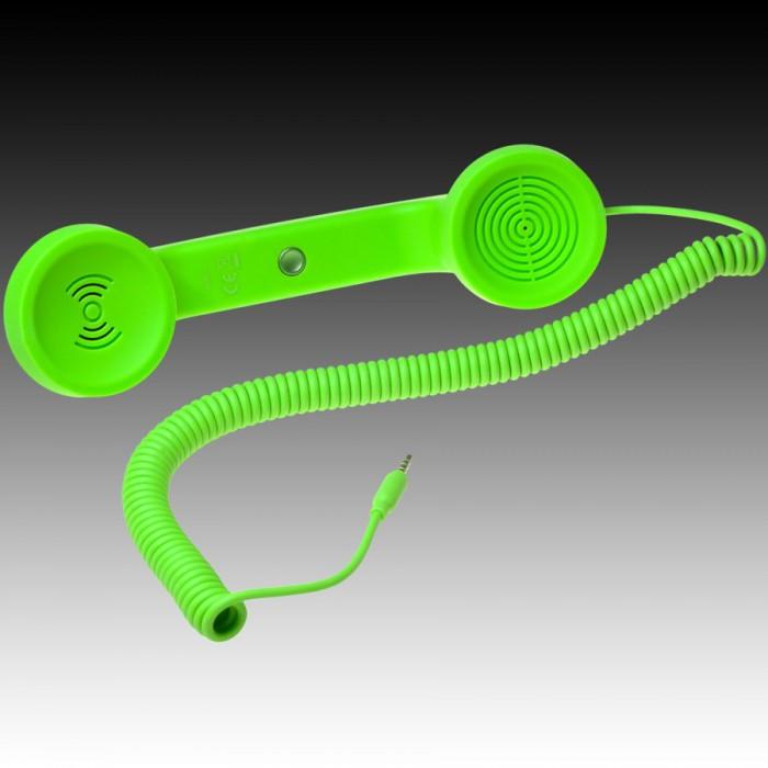 NATIVE UNION  {English}RETRO HANDSET - POP PHONE{English}{Russian}RETRO гарнитура - POP PHONE{Russian} , Green, Retail () [2]