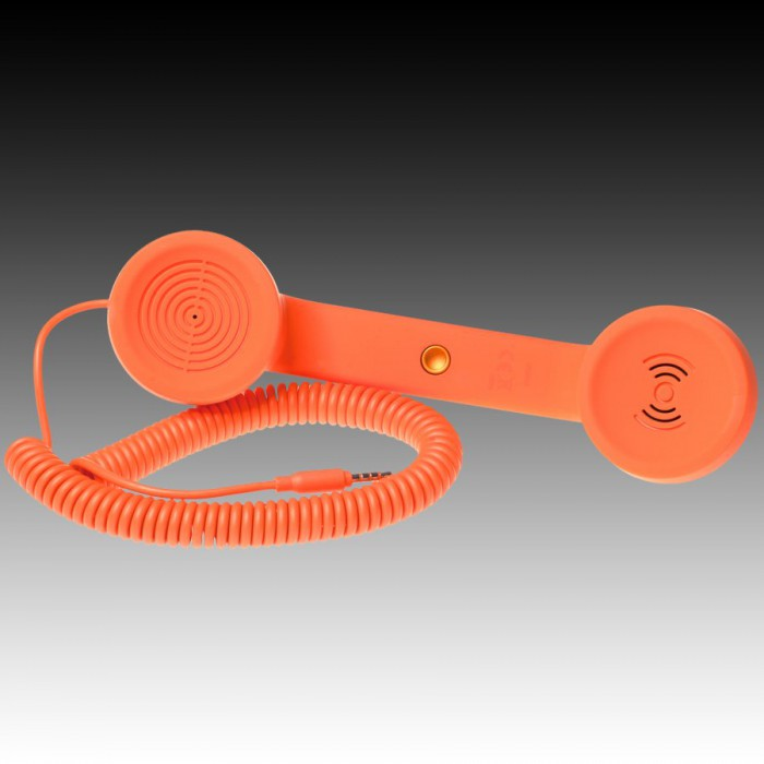 NATIVE UNION RETRO HANDSET - POP PHONE, Orange, Retail [2]