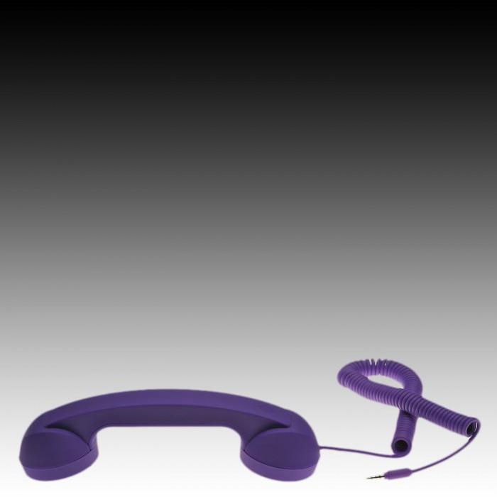 NATIVE UNION |{English}RETRO HANDSET - POP PHONE{English}{Russian}RETRO гарнитура - POP PHONE{Russian}|, Purple, Retail () [3]