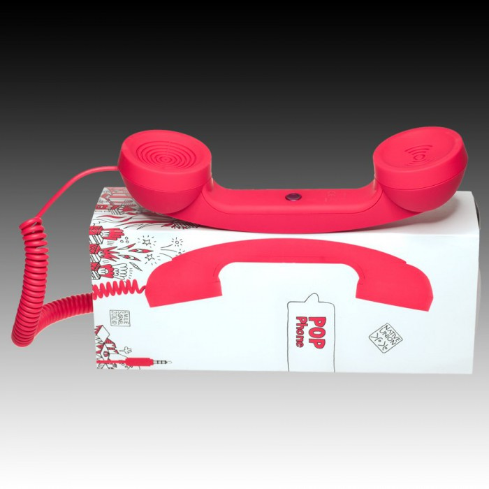 NATIVE UNION RETRO HANDSET - POP PHONE, Red, Retail [1]