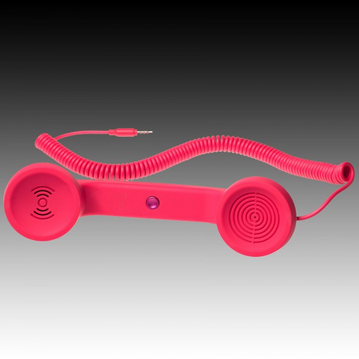 NATIVE UNION RETRO HANDSET - POP PHONE, Red, Retail [0]