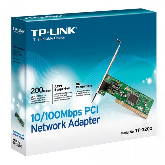 "Placa retea PCI 10/100 TP-LINK ""TF-3200"" 217 001 001/150956.1 - Lichidare stoc [0]"