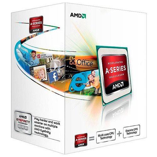 AMD CPU Trinity A4-Series X2 5300 (3.40GHz,1MB,65W,FM2) box, Radeon TM HD 7480D [0]