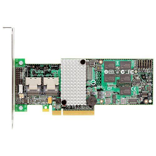 Intel RAID Controller RS2BL080 (8ch Internal LSI SAS2108 ROC, 6Gb/s up to 32 SAS/SATA/SSD, PCI-E 2.0 X8, 512MB DDR2, optional AXXRSBBU7, RAID 0,1,5,6,10,50,60, 2 Cables 1xMini-SAS SFF-8087 to 4x SATA  [0]