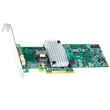 Intel RAID Controller RS2BL040 (4ch Internal LSI SAS2108 ROC, 6Gb/s up to 32 SAS/SATA/SSD, PCI-E 2.0 X8, 512MB DDR2, optional AXXRSBBU7, RAID 0,1,5,6,10,50,60, 1 Cable 1xMini-SAS SFF-8087 to 4x SATA a [0]