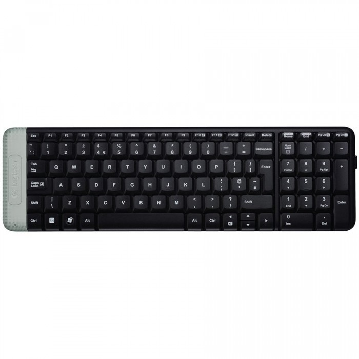 Keyboard Logitech K230 Wireless, Black 0