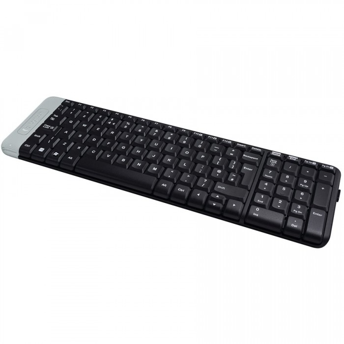 Keyboard Logitech K230 Wireless, Black 1