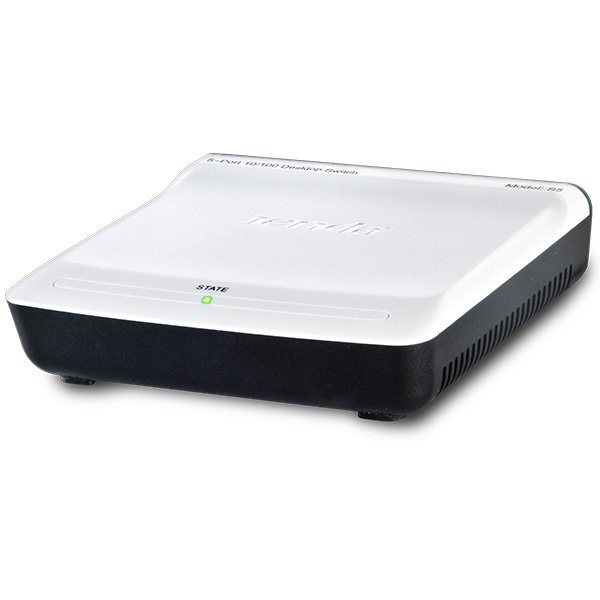 5-Port Mini Fast Ethernet Switch,Desktop Plastic Case,IEEE802.3, IEEE802.3u, RJ45, Auto-MDI/MDIX, Energy Saving; [0]