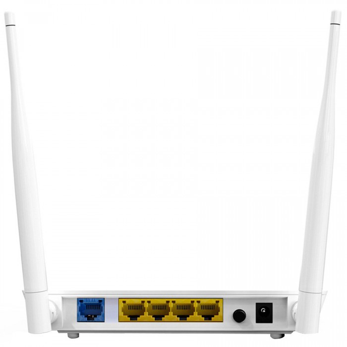 Dual-Band 2T2R 11N Router, 4 Gigabit LAN Port, 1 Gigabit WAN Port, 1 USB Port For Storage and Printing Server, 2x5dBi  Antennas [1]