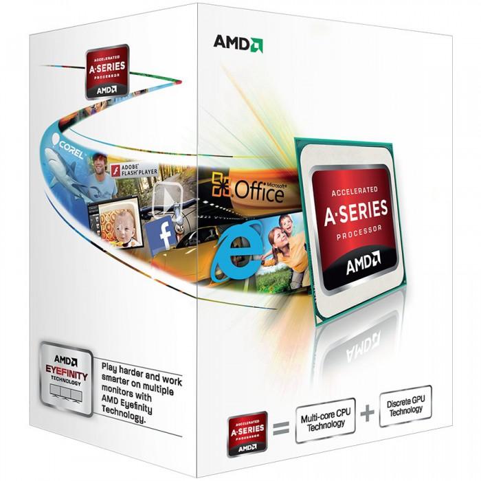 AMD CPU Richland A4-Series X2 4000 (3.2GHz,1MB,65W,FM2) box, Radeon TM HD 7480D 0