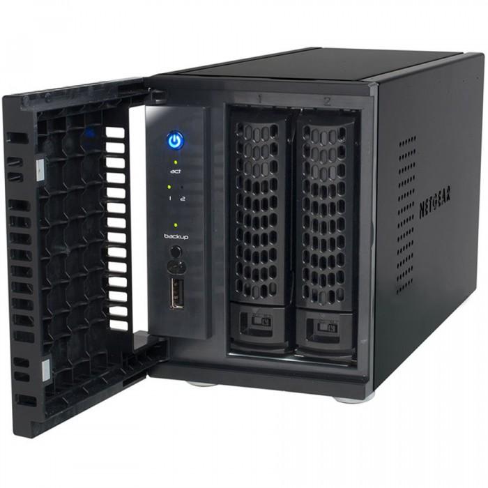 READYNAS 102 (2 BAY DISKLESS), CPU Armada 370 1.2GHz, RAM 512MB, 1x GbE port, 1x eSATA port, 1x USB 2.0, 2x USB 3.0 [1]