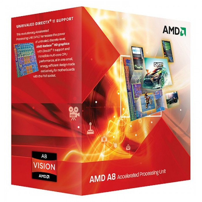 AMD CPU Richland A8-Series X4 6600K (3.9GHz,4MB,100W,FM2) box, Black Edition, Radeon TM HD 8570D 0