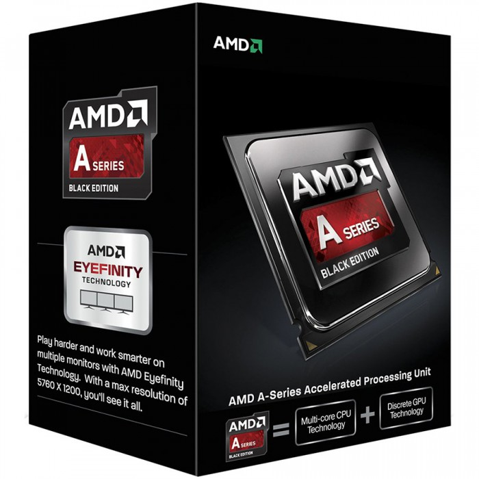 AMD CPU Richland A4-Series X2 6300 (3.7GHz,1MB,65W,FM2) box, Radeon TM HD 8370D 0