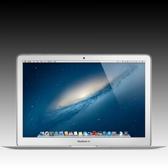 Apple MacBook Air 13.3-inch  Model: A1466, 1.3GHz dual-core Intel Core i5 processor Turbo Boost up to 2.6GHz, Intel HD Graphics 5000, 4GB memory, 128GB flash storage [2]
