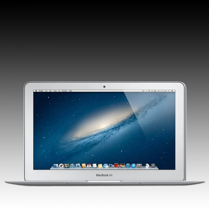 Apple MacBook Air 11-inch Model: A1465, 1.3GHz dual-core Intel Core i5 processor, Turbo Boost up to 2.6GHz, Intel HD Graphics 5000, 4GB memory, 128GB flash storage [2]