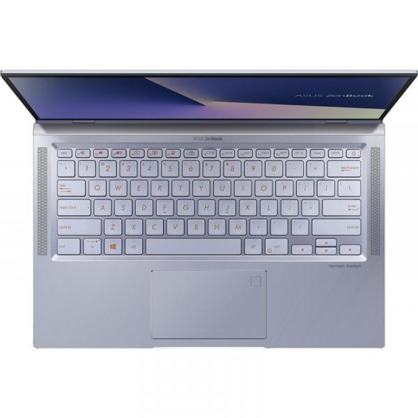 Laptop ultraportabilASUS 14'' ZenBook 14 UX431FL, Full HD, Procesor Intel® Core™ i5-10210U (6M Cache, up to 4.20 GHz), Memorie 8GB, 512GB SSD, GeForce MX250 2GB, Utopia BlueMetal, Licenta Windows 10 1