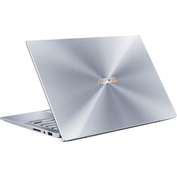 Laptop ultraportabilASUS 14'' ZenBook 14 UX431FL, Full HD, Procesor Intel® Core™ i5-10210U (6M Cache, up to 4.20 GHz), Memorie 8GB, 512GB SSD, GeForce MX250 2GB, Utopia BlueMetal, Licenta Windows 10 9