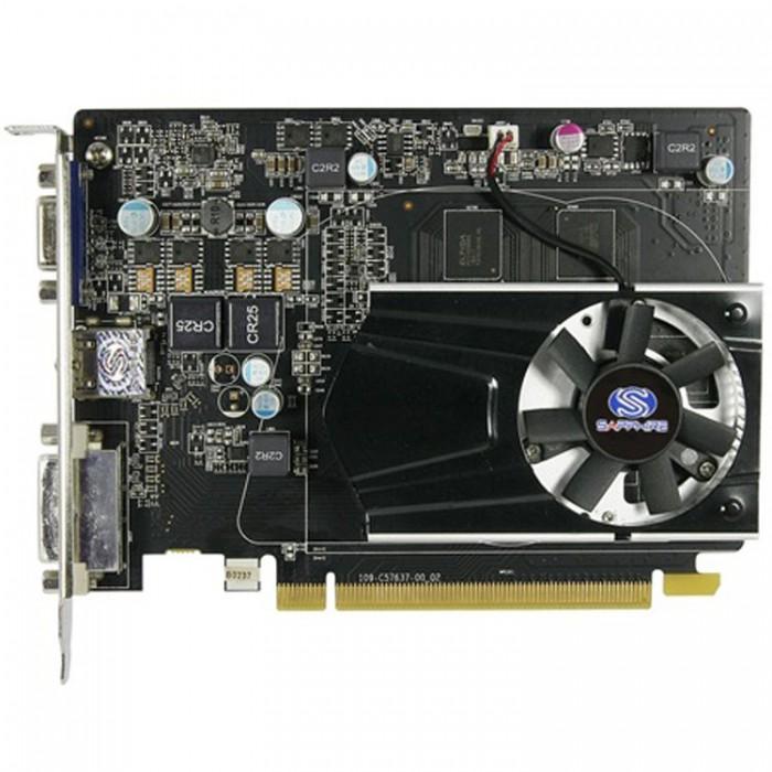 VC SAPPHIRE AMD Radeon R7 240 1G GDDR5 PCI-E HDMI / DVI-D / VGA WITH BOOST, 730MHz (780MHz) / 1150Hz, 128-bit, 1 slot active, , LITE 0