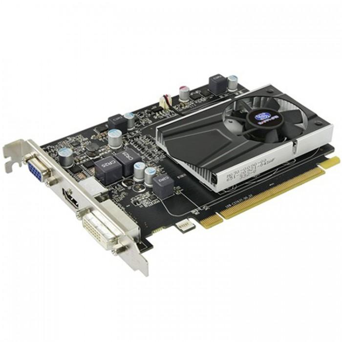 VC SAPPHIRE AMD Radeon R7 240 1G GDDR5 PCI-E HDMI / DVI-D / VGA WITH BOOST, 730MHz (780MHz) / 1150Hz, 128-bit, 1 slot active, , LITE 2
