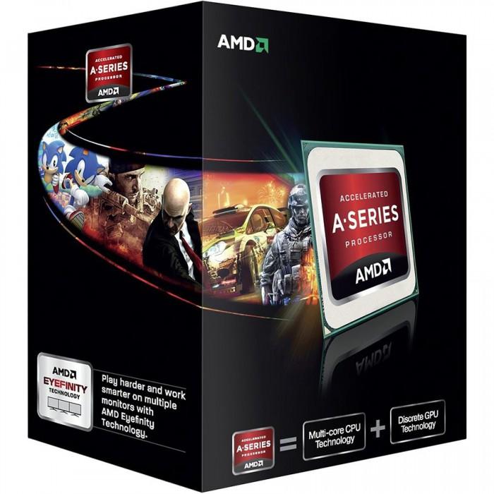 AMD CPU Richland A6-Series X2 6420K (4.0GHz,1MB,65W,FM2) box, Black Edition, Radeon TM HD 8470D [0]