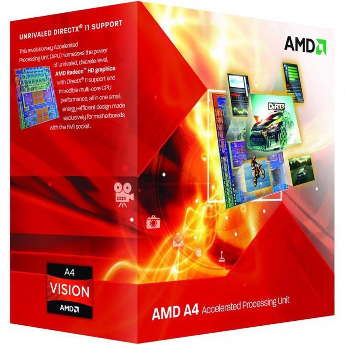 AMD CPU Richland A4-Series X2 4020 (3.4GHz,1MB,65W,FM2) box, Radeon TM HD 7480D [0]