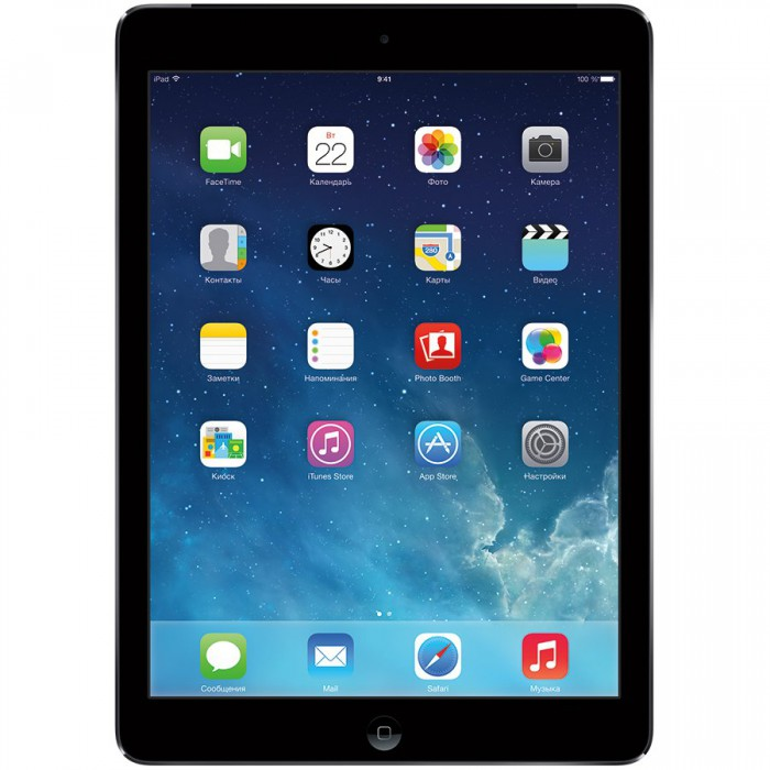 Apple IPAD AIR MODEL A1475 WIFI CELL 16GB SPACE GRAY [0]