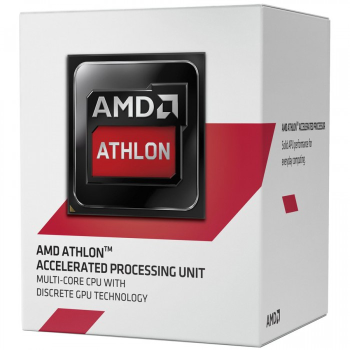 AMD CPU Kabini Athlon X4 5150 (1.6GHz,2MB,25W,AM1) box, Radeon HD 8400 0