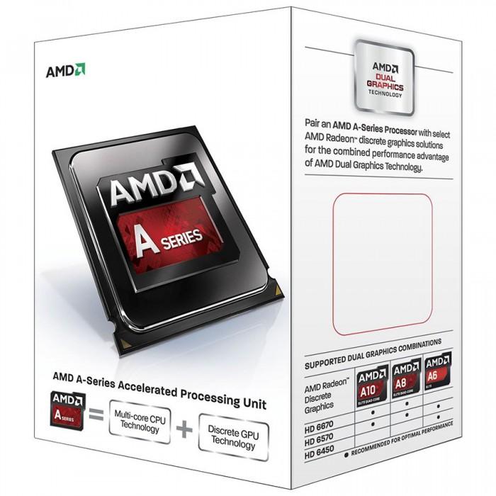 AMD CPU Kaveri A8-Series X4 7600 (3.8GHz,4MB,65W,FM2+) box, Radeon TM R7 Series 0