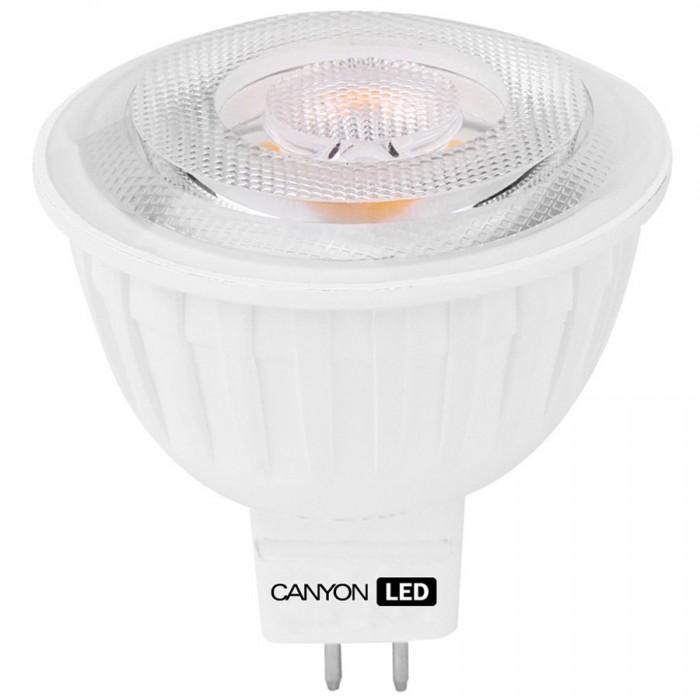 CANYON MRGU5.3/5W12VW38 LED lamp, MR shape, GU5.3, 4.8W, 12V, 38°, 300 lm, 2700K, Ra>80, 50000 h [0]