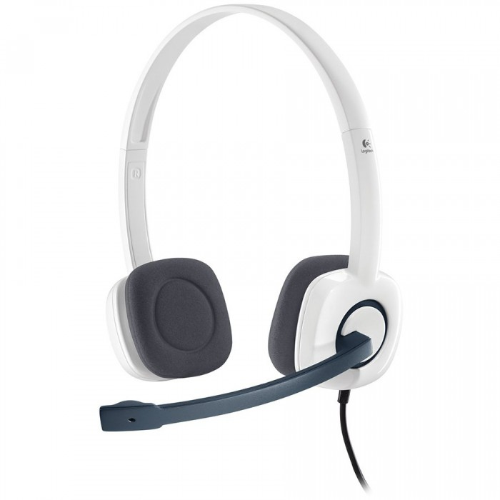 LOGITECH Stereo Headset H150 - CLOUD WHITE - ANALOG - EMEA 0