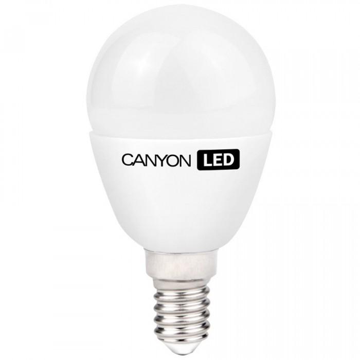 CANYON PE14FR3.3W230VN LED lamp, P45 shape, frosted, E14, 3.3W, 220-240V, 150°, 262 lm, 4000K, Ra>80, 50000 h [0]
