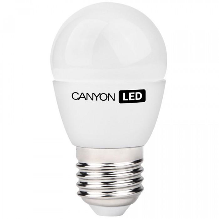 CANYON PE27FR3.3W230VN LED lamp, P45 shape, frosted, E27, 3.3W, 220-240V, 150°, 262 lm, 4000K, Ra>80, 50000 h [0]