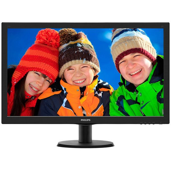 "Philips 27"""" 273V5LHAB/00 - LED, 1920x1080, 1ms, DSUB-DVI-HDMI, Speaker 0"