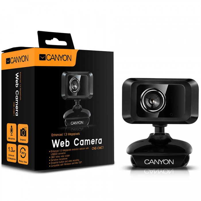 Enhanced 1.3 Megapixels resolution webcam with USB2.0 connector 1