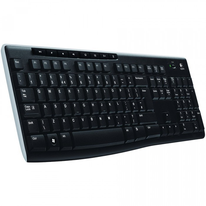 LOGITECH Wireless Keyboard K270 - EER - US International layout 0