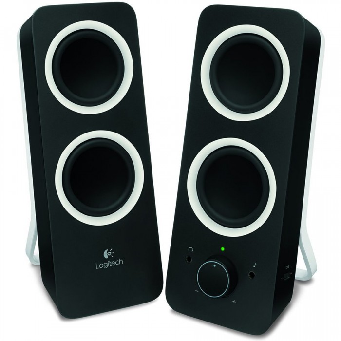 Multimedia - Speaker LOGITECH Z200 (Stereo, 10W , USB, Black) 0