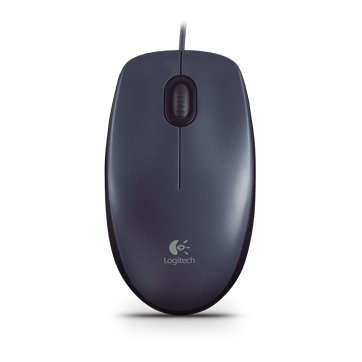 "MOUSE LOGITECH USB optic, 1000dpi, 3 butoane, 1 rotita scroll, ""M90"", gri, ""910-001793"" (include timbru verde 0.1 lei) 0"