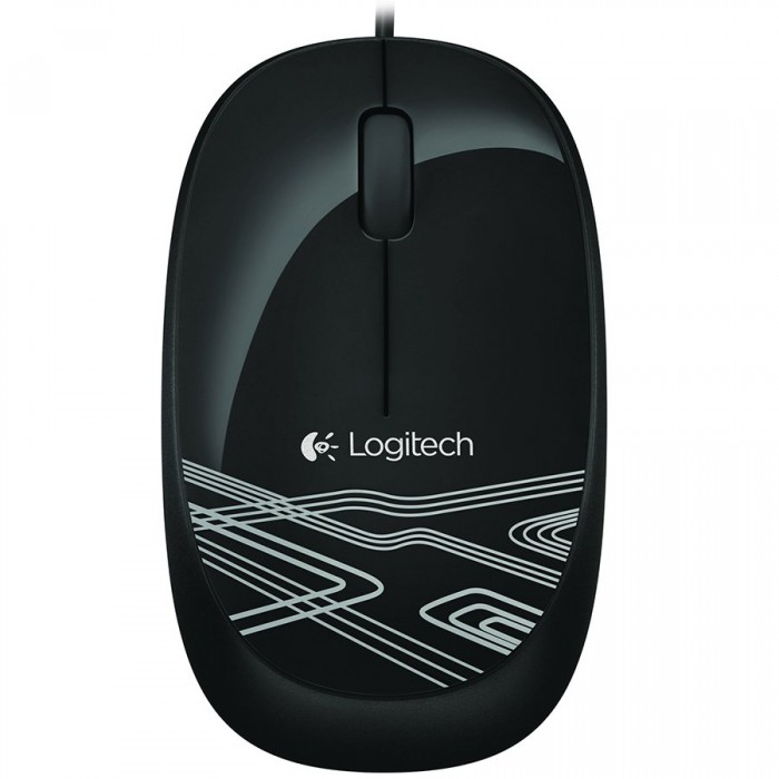 LOGITECH Mouse M105 - BLACK - 2.4GHZ - EER2 0