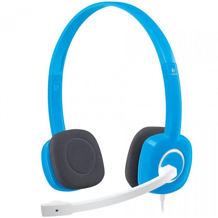 LOGITECH Stereo Headset H150 - SKY BLUE - ANALOG - EMEA 0