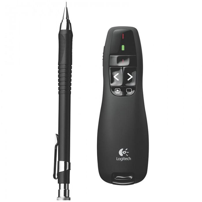 LOGITECH Wireless Presenter R400 - 2.4GHZ - EER2 1